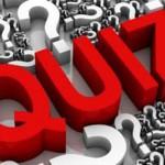 Laatste training / Quiz