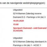 Nieuws van de KNVB