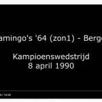 Video Kampioenswedstrijd 1990